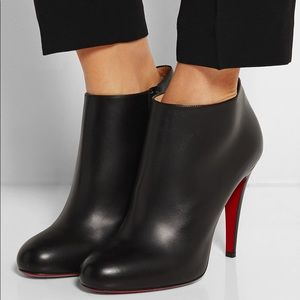 the latest d6bfe f45f9 Christian Louboutin belle round toe bootie